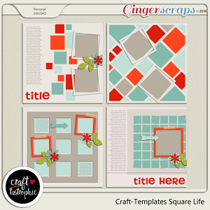 Craft-Templates Square Life