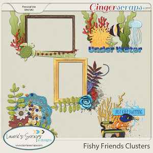 Fishy Friends Clusters