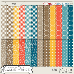 #2019 August - Extra Papers by Connie Prince