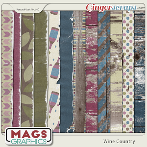 Wine Country SPECIALTY PAPERS by MagsGraphics