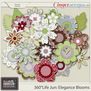 360°Life June: Elegance Blooms by Aimee Harrison