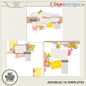 JDoubleU 16 Templates by JB Studio