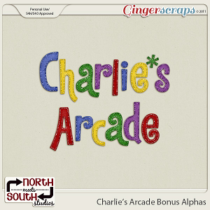 Charlie's Arcade {Bonus Alphas} by North Meets South Studios