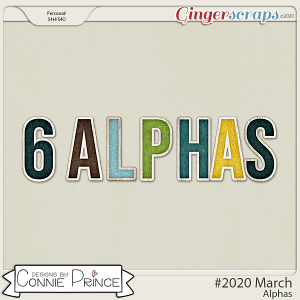 #2020 March - Alpha Pack AddOn by Connie Prince