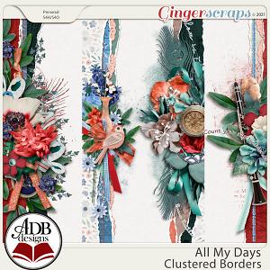 All My Days Cluster Borders by ADB Designs