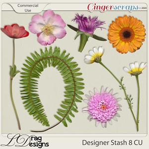 Designer Stash 8 CU Greenery by LDragDesigns