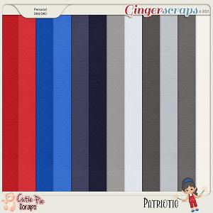 Patriotic Solid Papers