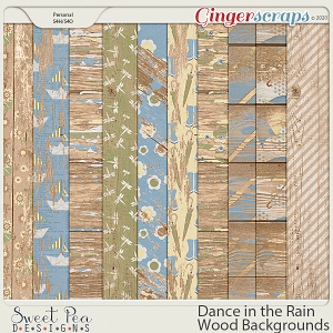 Dance in the Rain Wood Backgrounds
