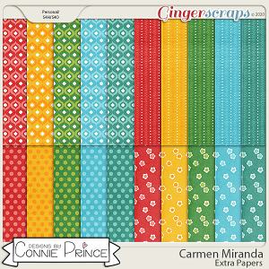 Carmen Miranda - Extra Papers by Connie Prince