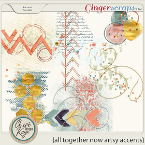 All Together Now Artsy Accents by Chere Kaye Designs