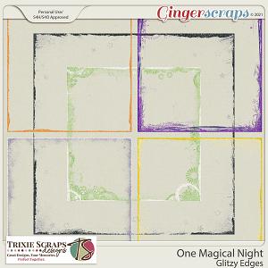 One Magical Night Glitzy Edges by Trixie Scraps Designs