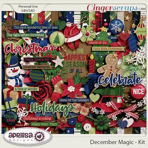 December Magic - Kit by Aprilisa Designs
