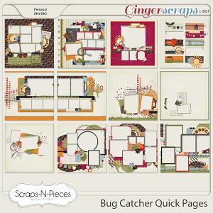 Bug Catcher Quick Pages by Scraps N Pieces