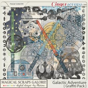 Galactic Adventure (graffiti pack)