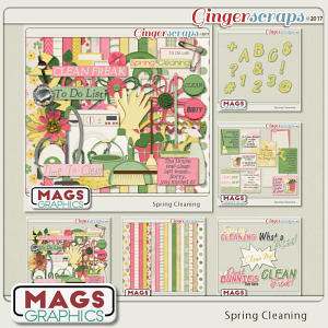 Spring Cleaning BUNDLE by MagsGraphics