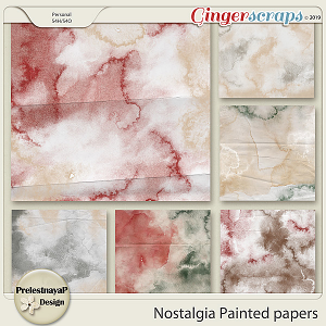 Nostalgia Painted papers
