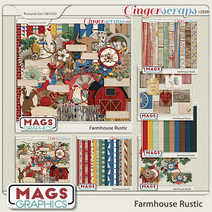 Farmhouse Rustic BUNDLE by MagsGraphics