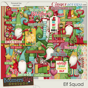 Elf Squad by BoomersGirl Designs