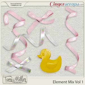 CU Baby Elements Vol 1 by Tami Miller Designs