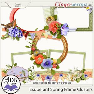 Exuberant Spring Frame Clusters by ADB Designs