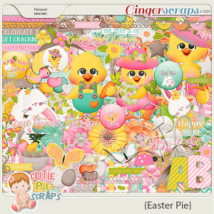 Easter Pie Page Kit