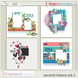 Second Chance Vol 2 Templates by Shepherd Studio