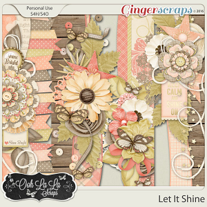 Let It Shine Page Borders