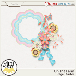 On The Farm Cluster Gift 01 by ADB Designs