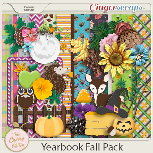 The Cherry On Top:  Yearbook Fall Pack