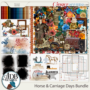 Horse & Carriage Days Bundle by ADB Designs