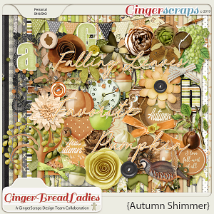 GingerBread Ladies Collab: Autumn Shimmer