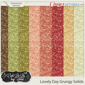 Lovely Day Glitter Sheet