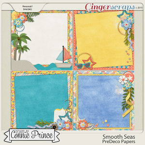 Smooth Seas - PreDeco Papers