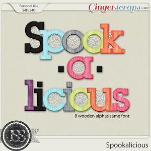 Spookalicious Alphabets