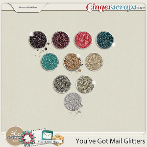 You've Got Mail Glitters by JoCee Designs