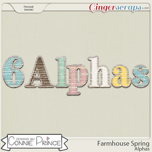 Farmhouse Spring - Alpha Pack AddOn by Connie Prince