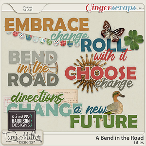 A Bend in the Road Titles by Aimee Harrison and Tami Miller Designs