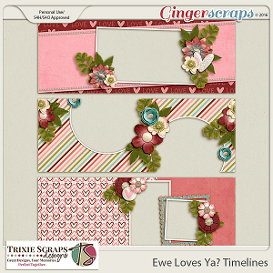 Ewe Loves Ya? Timelines by Trixie Scraps Designs