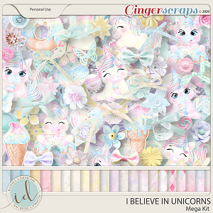 I Believe In Unicorns Mega Kit by Ilonka's Designs