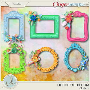 Life In Full Bloom Clusters by Ilonka's Designs