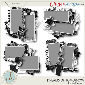 Dreams Of Tomorrow Photo Clusters by Ilonka's Designs
