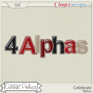 Celebrate - Alpha Pack AddOn by Connie Prince