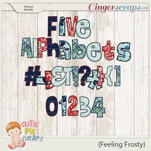 Feeling Frosty Alphabets