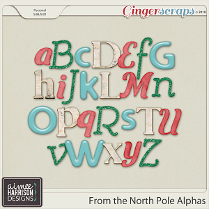 From the North Pole Alpha Sets by Aimee Harrison