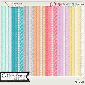 Grace Pattern Papers