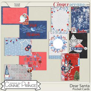 Dear Santa - Pocket Cards by Connie Prince