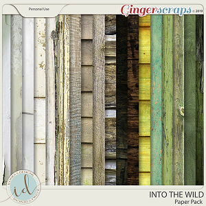 Into The Wild Paper Pack by Ilonka's Designs