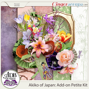Akiko Add-on Kit {DOTW - Japan} by ADB Designs