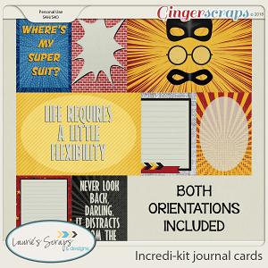 Incredi-Kit Journal Cards