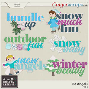 Ice Angels Titles by Aimee Harrison